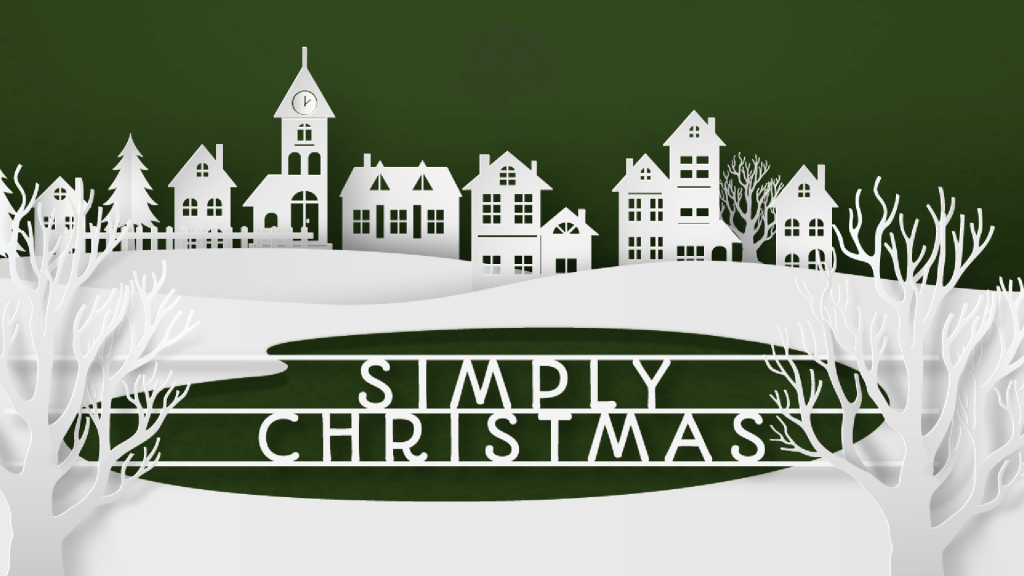Simply Christmas Sermon Graphic