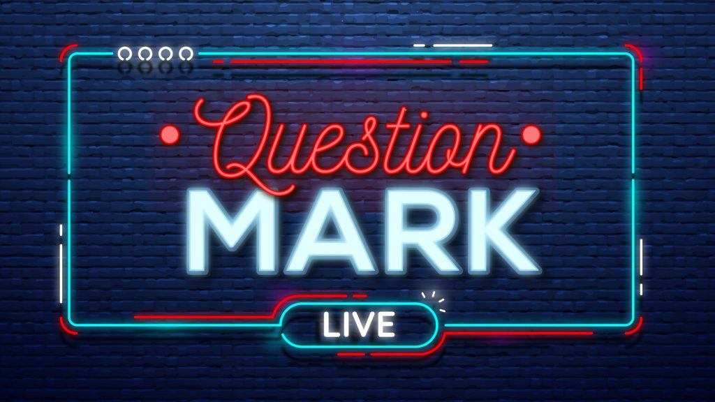 Question Mark Sermon Graphic