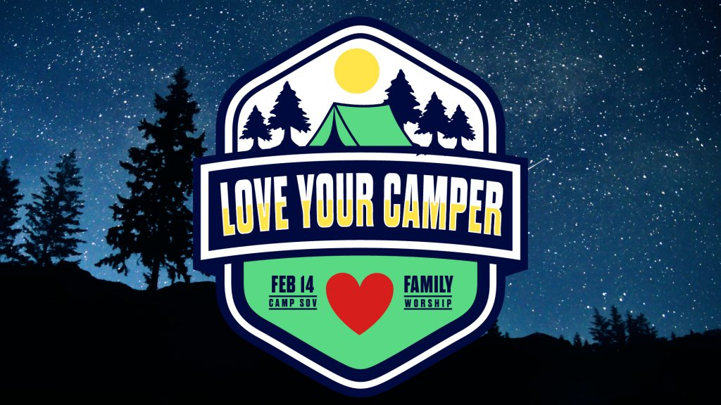 Love Your Camper Sermon Graphic