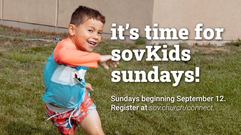 sovKids Fall Registration